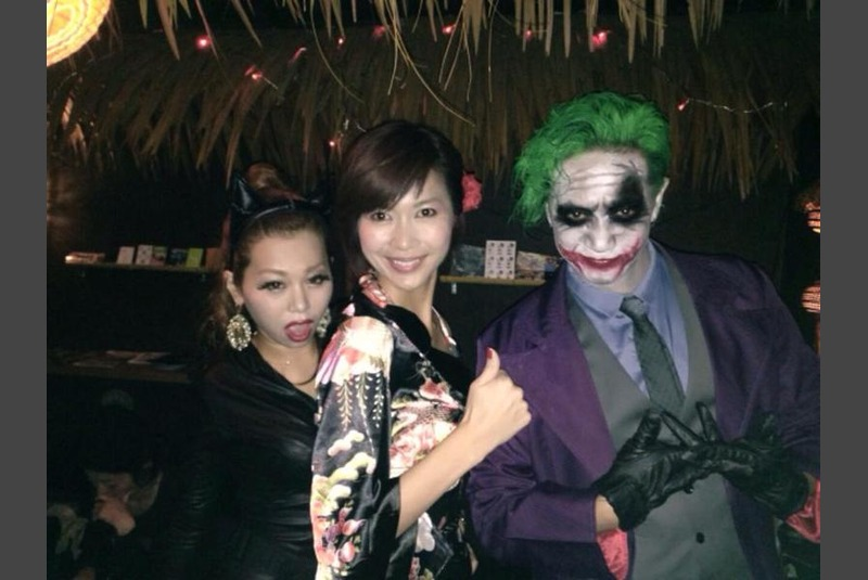 Halloween party in Osaka
